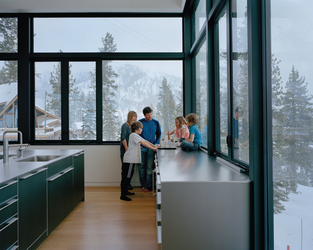 Designing a dwelling platform for the sharing economy  - ABC's Nightline includes award-winning, Squaw Valley residence in interview with Airbnb's CEO, Brian Chesky.