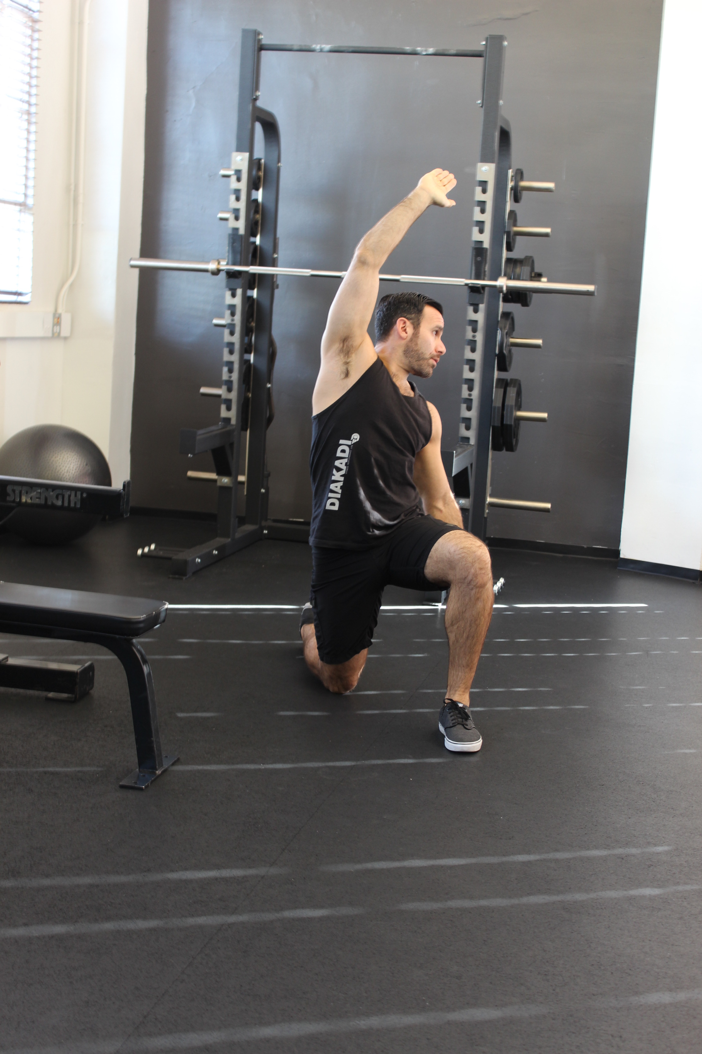 12 Days Stretch Blog Kneel hip flexor