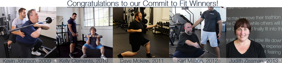 Commit to Fit Winners