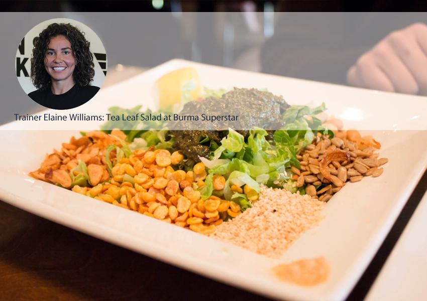 Elaine Williams Salad Post