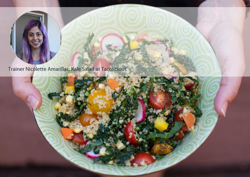 Nicollette Amarilllas Salad Post