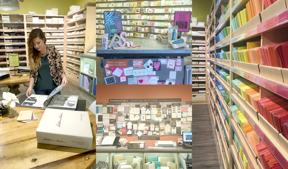 You can pop into the store and they can help you at any time to pick out just the right design and color combos for your event. I mean they had the black and white stripe envelope inlay. Hubbba hubba. Also, they hold in store events all the time, and they can help you create anything your heart can dream up.