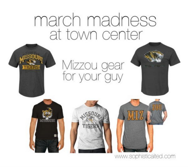 Mizzou Shirts: 1, 2, 3, 4, and 5