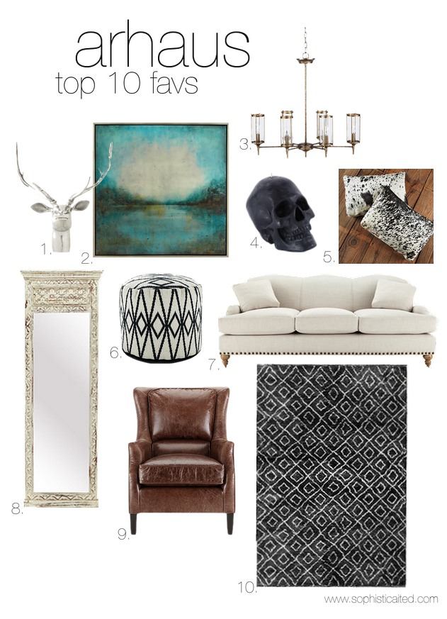 favorites from arhaus