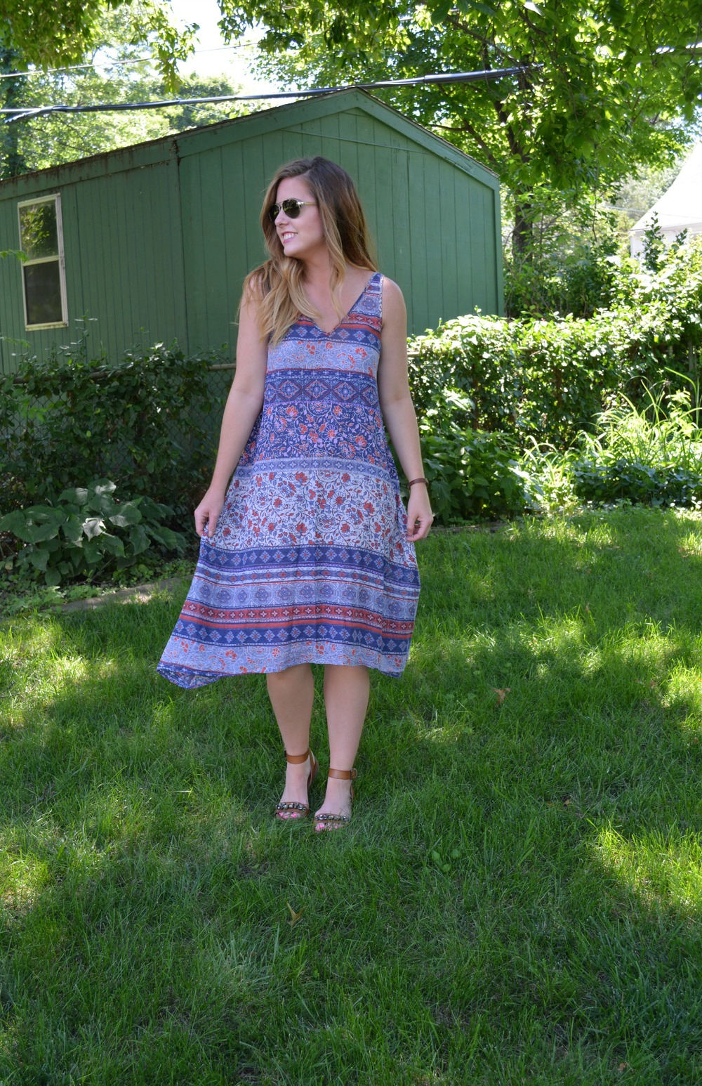 velvet summer dress on Sophisticaited.com
