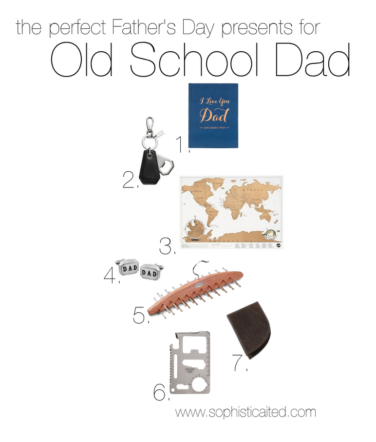 Old School presents for Father's Day on Sophisticaited.com