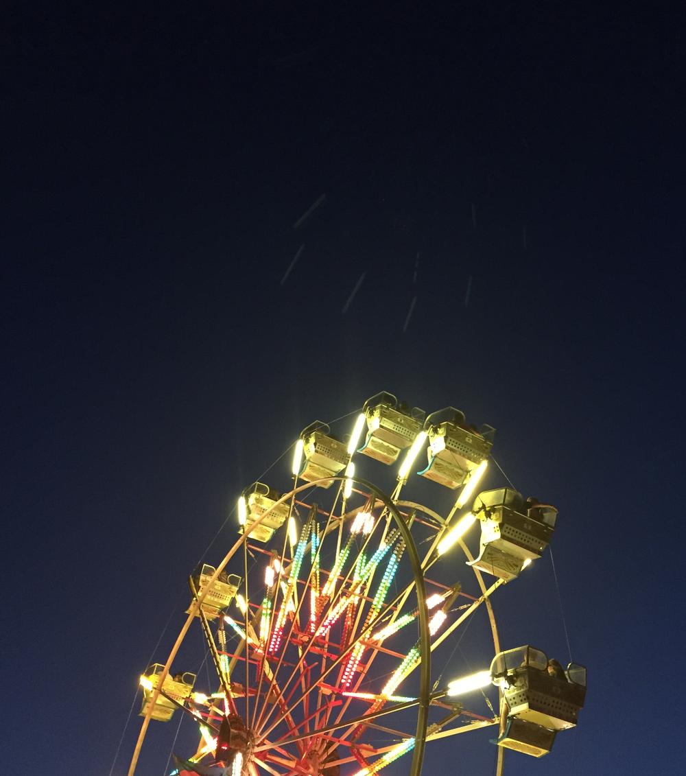 Ferris wheel at Boulevardia