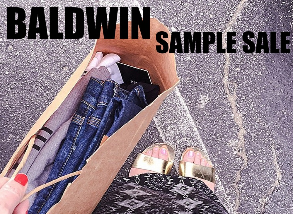 Baldwin Sample Sale