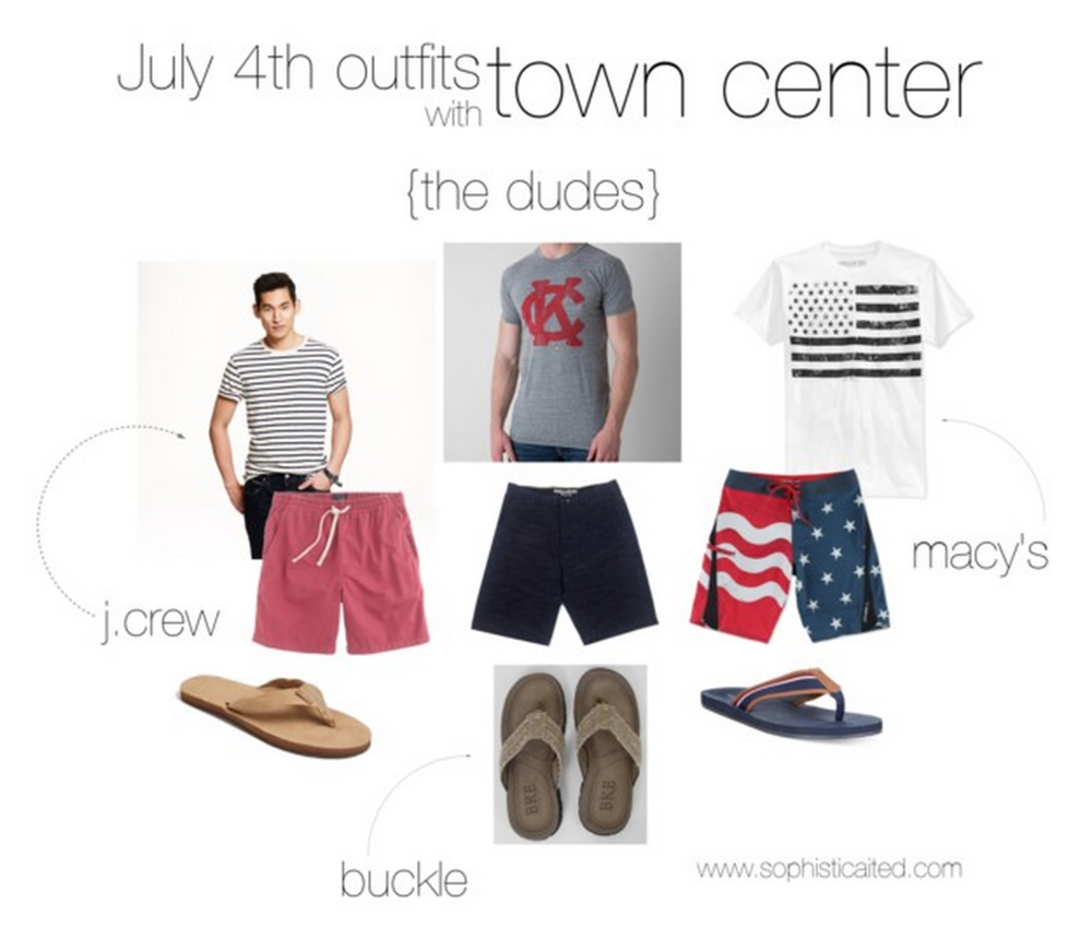 Men's outfits for the 4th of July
