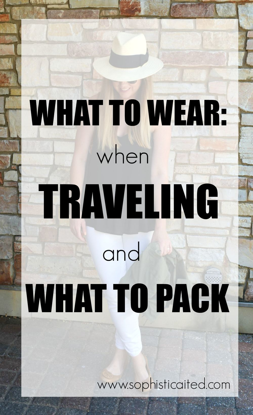What to wear when you travel on Sophisticaited