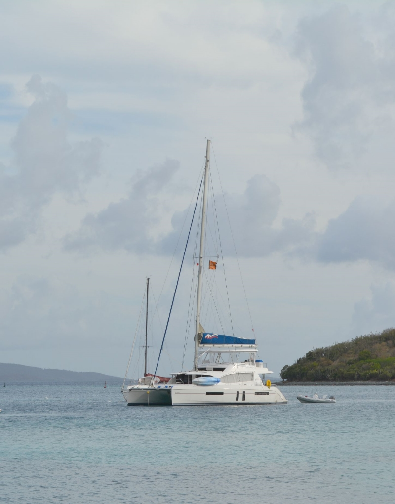 Moorings sail in the BVI on Sophisticaited.com