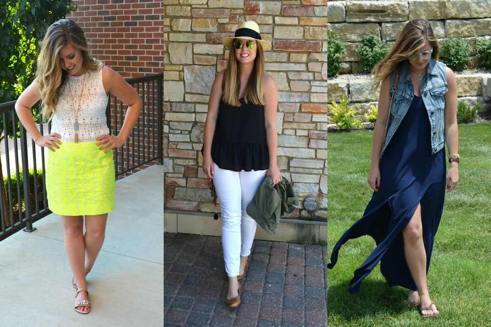 Summer outfits on Sophisticaited.com