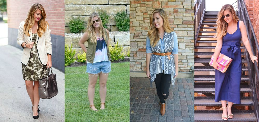 Tons of great outfits on Sophisticaited blog by Caitlin Fore wardrobe stylist KC