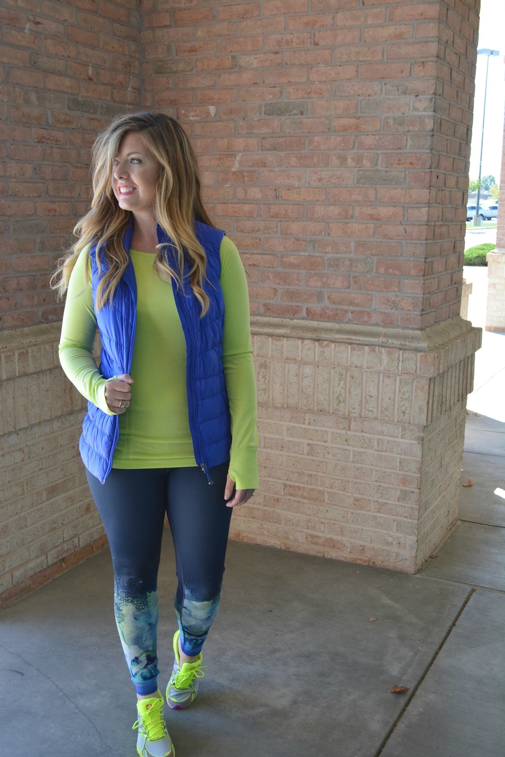 Athleta outfit on Sophisticaited.com