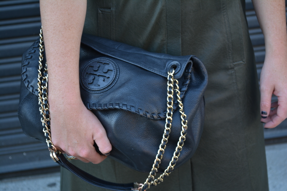 Tory Burch bag on Sophisticaited