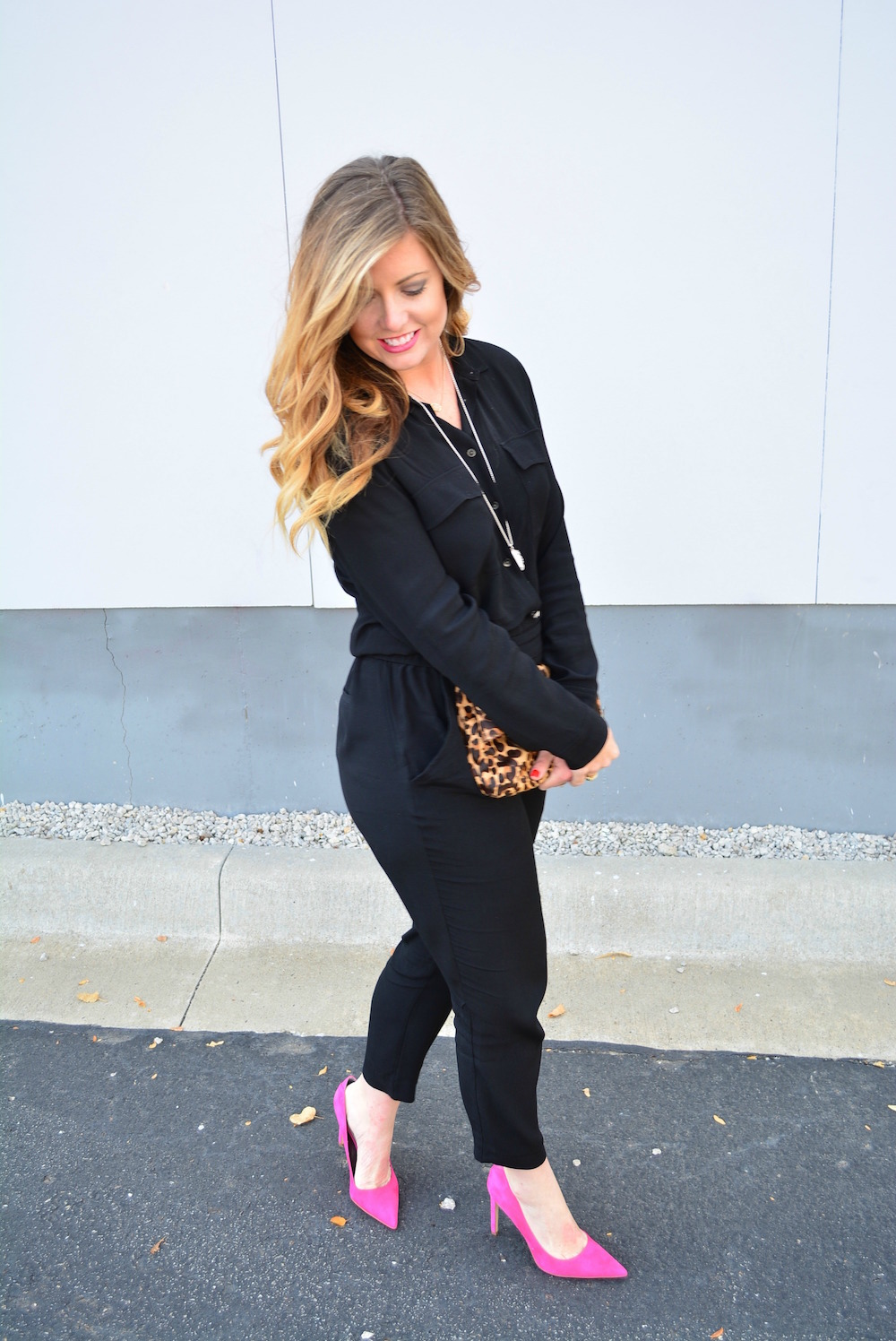 Black jumpsuit on Sophisticaited