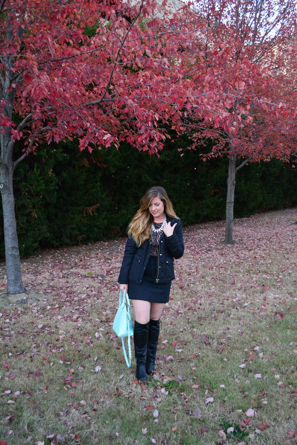 How to style a quilted jacket this fall on Sophisticaited