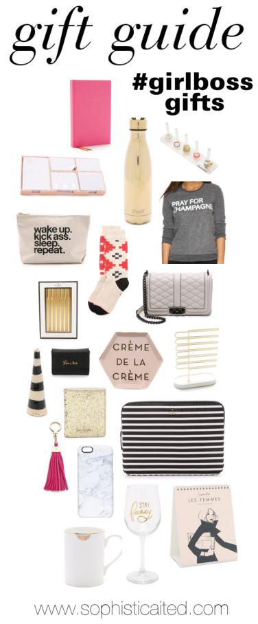 girl boss gift guide
