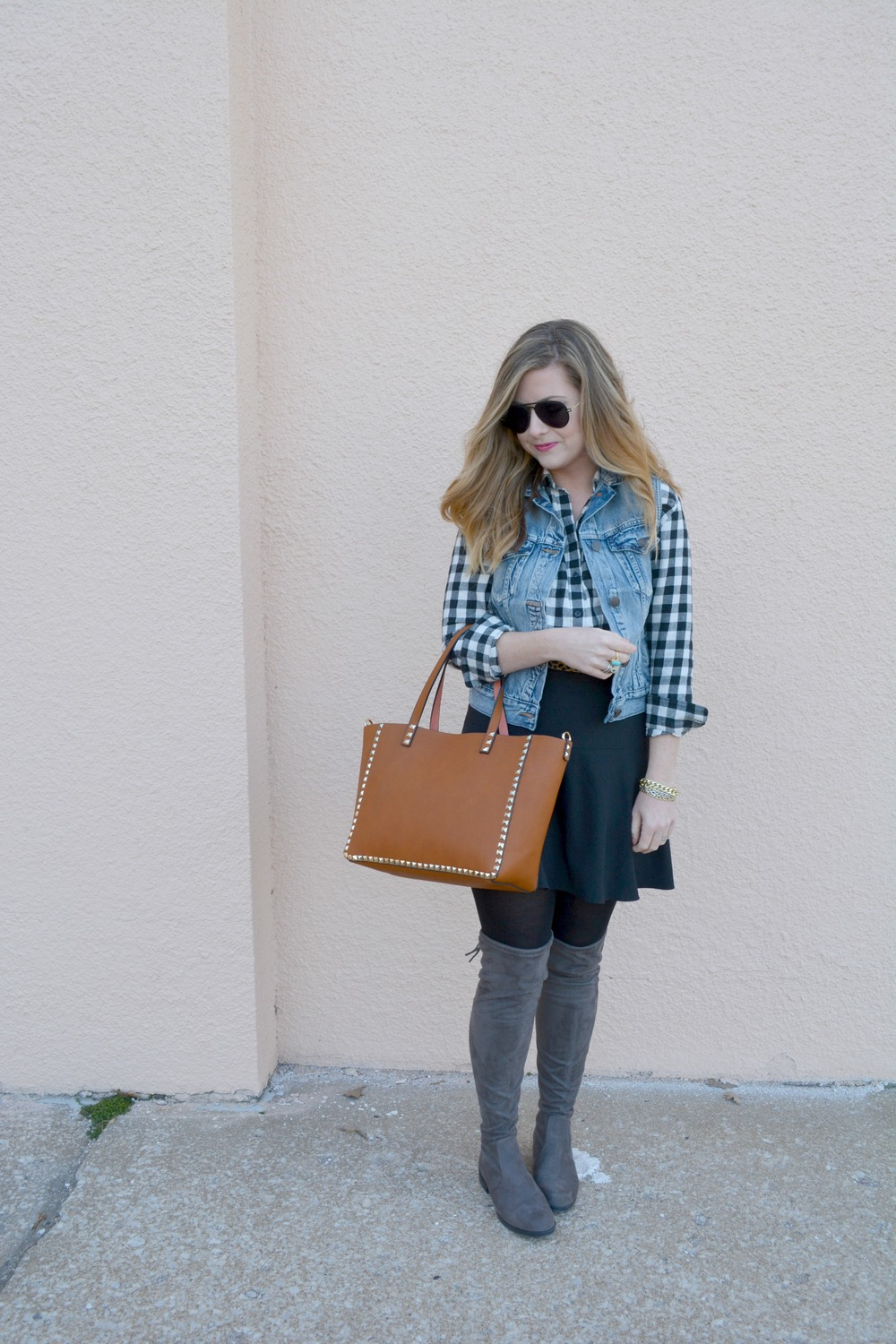 How to remix your flannel in early spring
