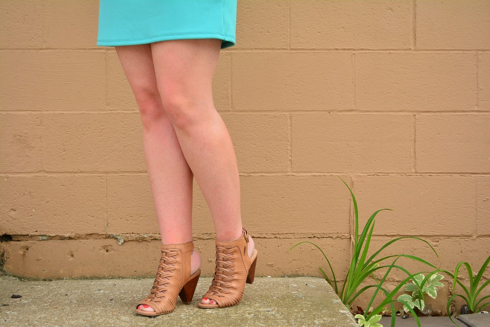 Tan Vince Camuto sandals for summer