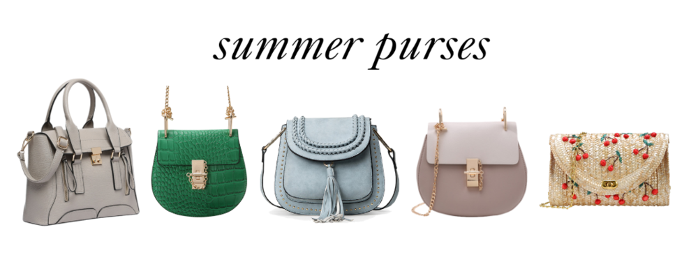 The best affordable handbags / purses for summer