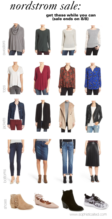 Nordstrom Sale Favorites! Grab them before the sale ends on 8/8
