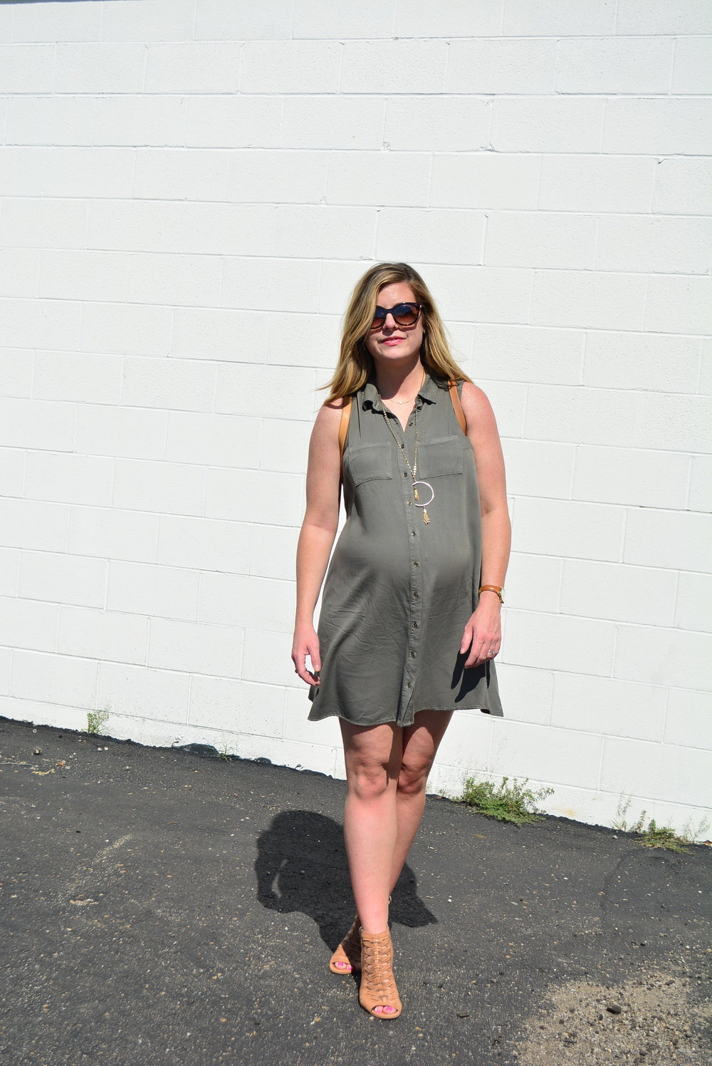 Olive dress the best piece for fall