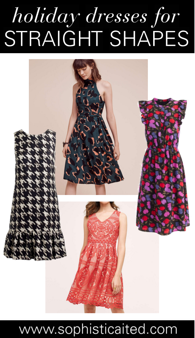 Holiday dresses - straight