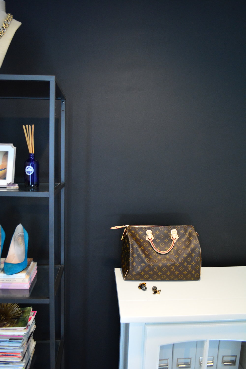 Louis Vuitton Speedy 35 in office