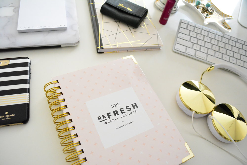 Refresh planner for 2017