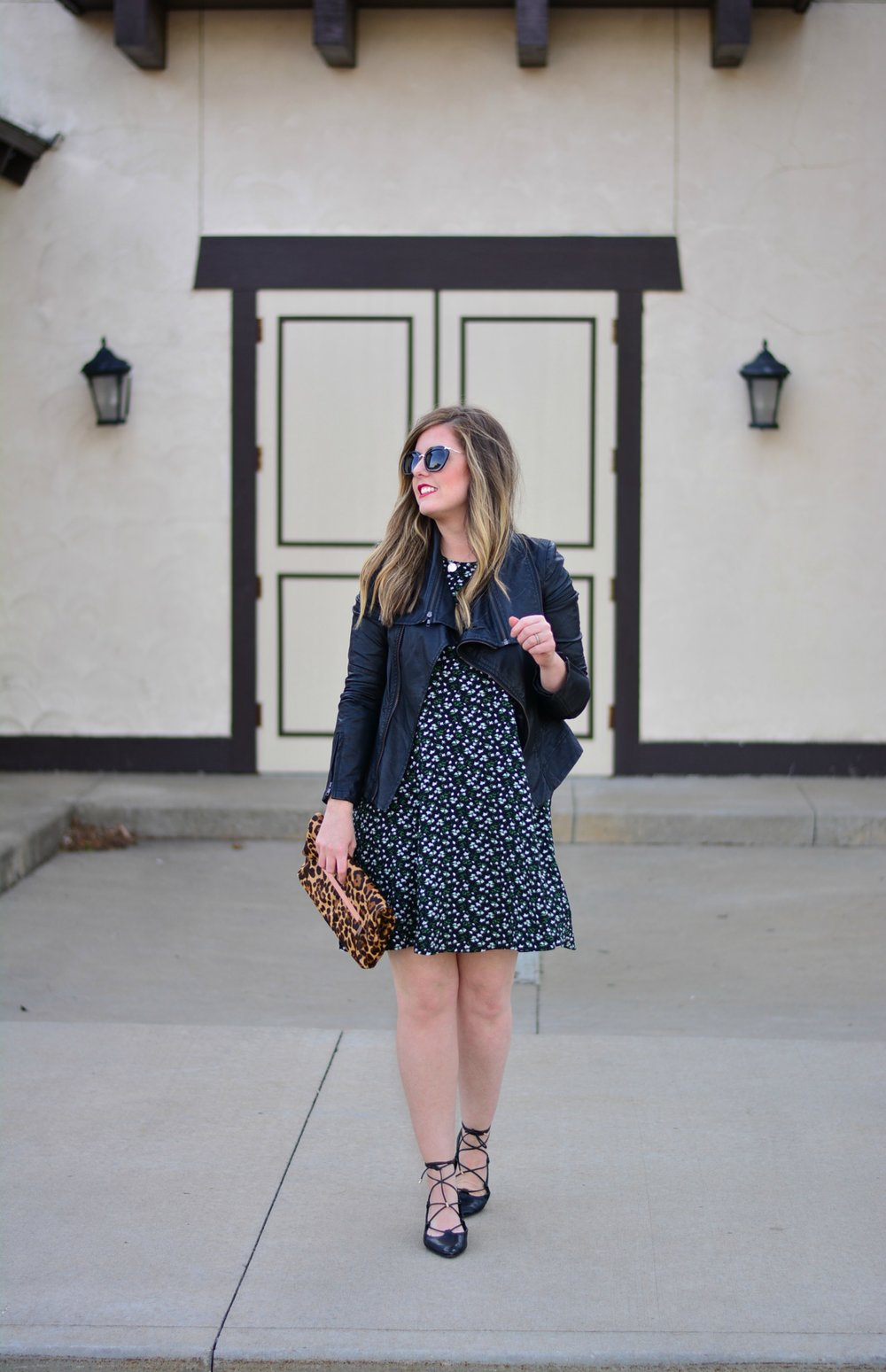 Old Navy Floral Swing Dress