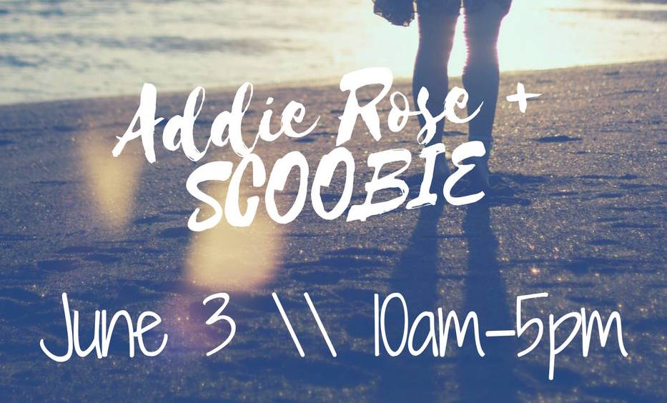 Addie Rose + Scoobie shopping event