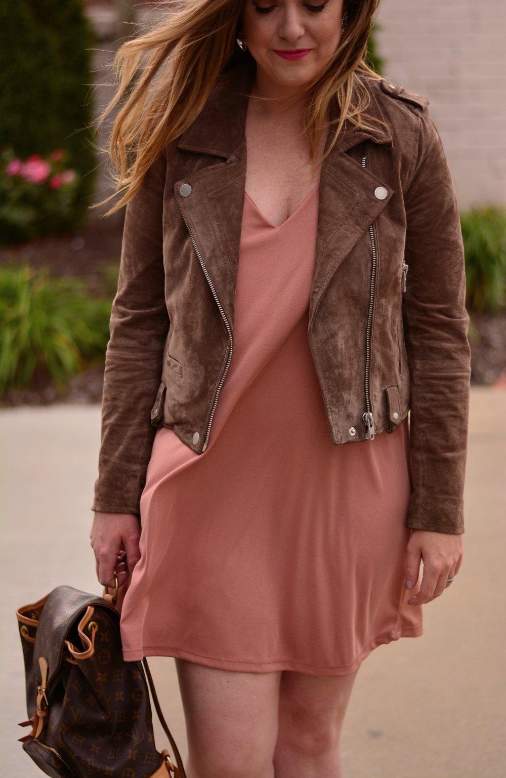 Spring blush dress