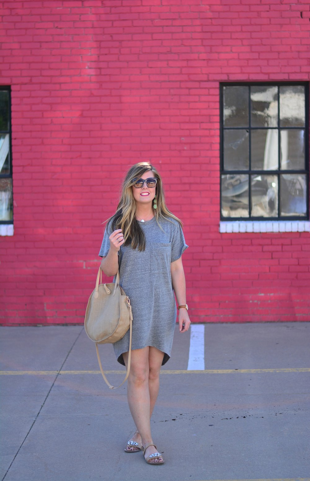 Tshirt dress for spring