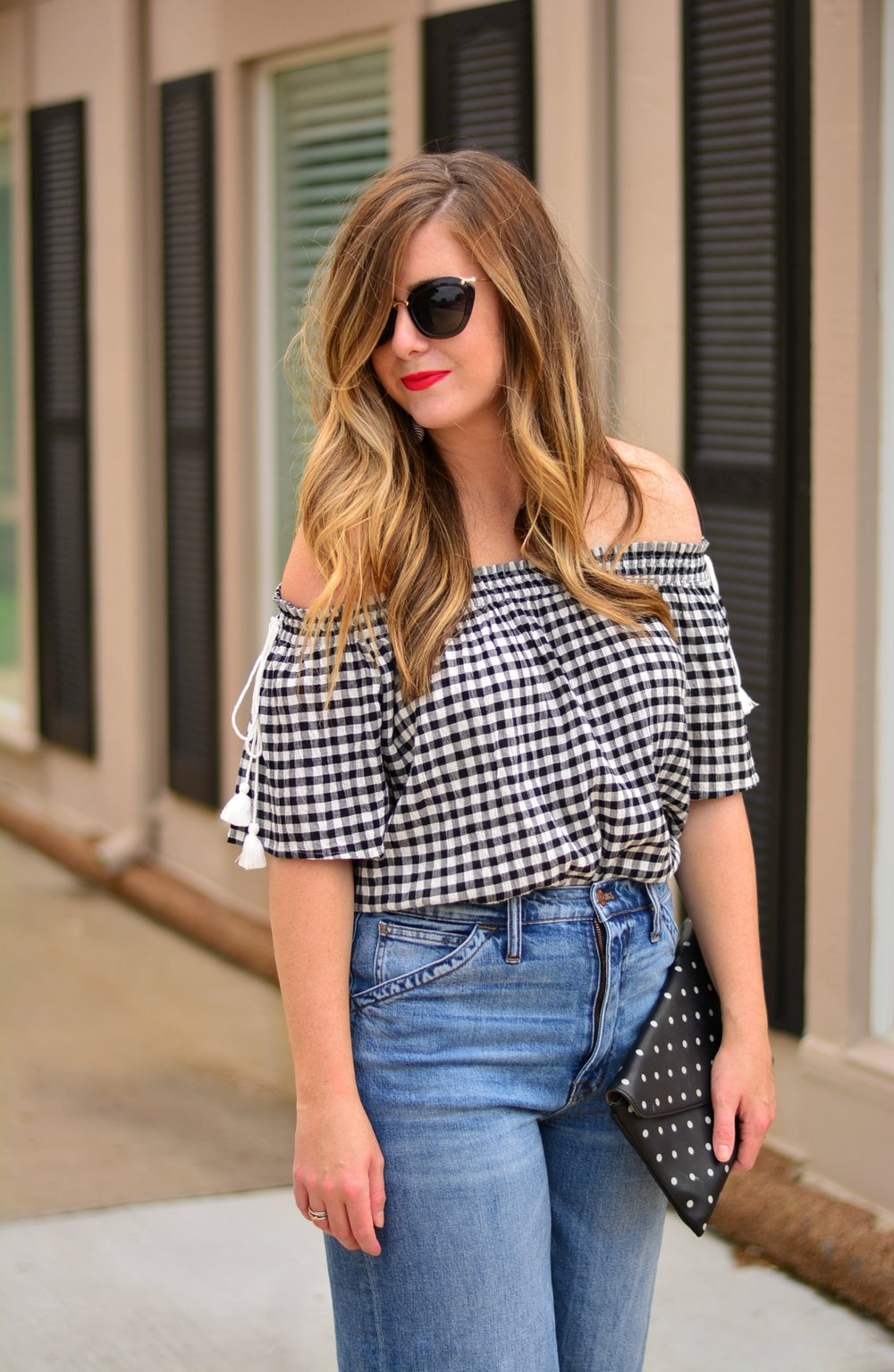LOFT off the shoulder top