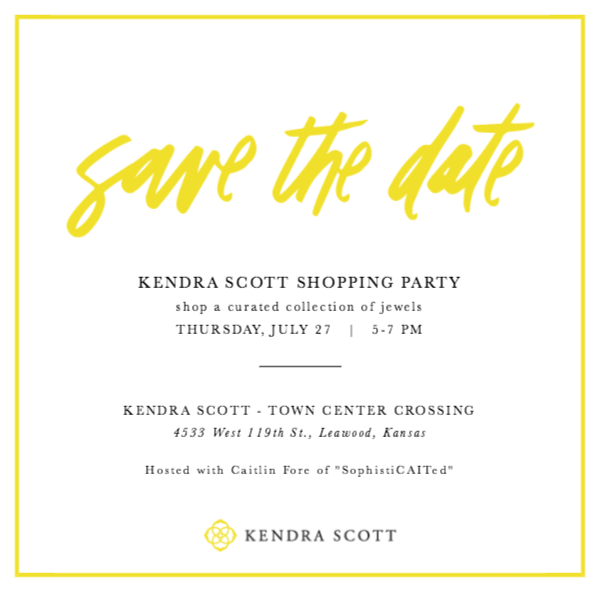 Kendra Scott event in Kansas City