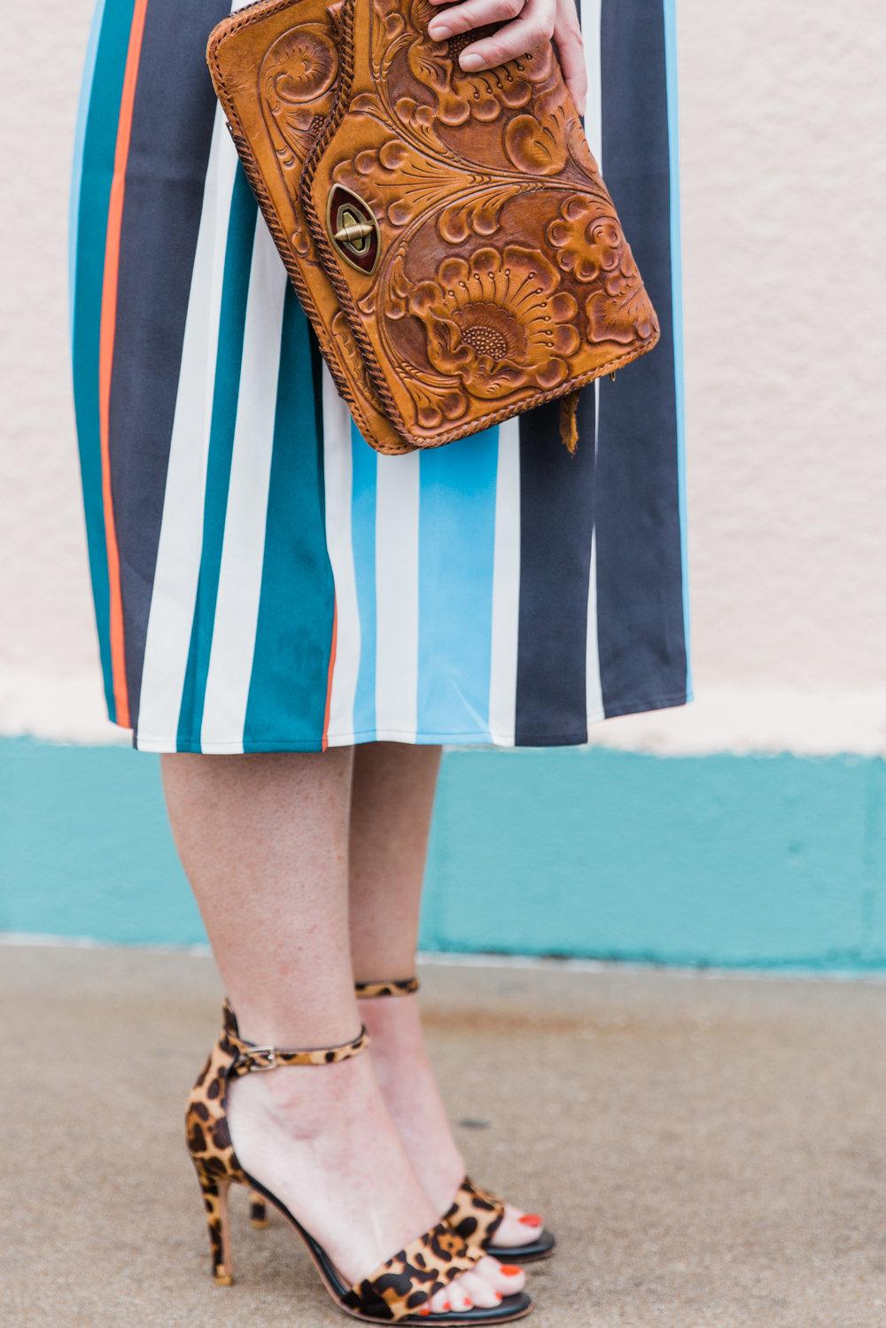 LOFT stripe dress