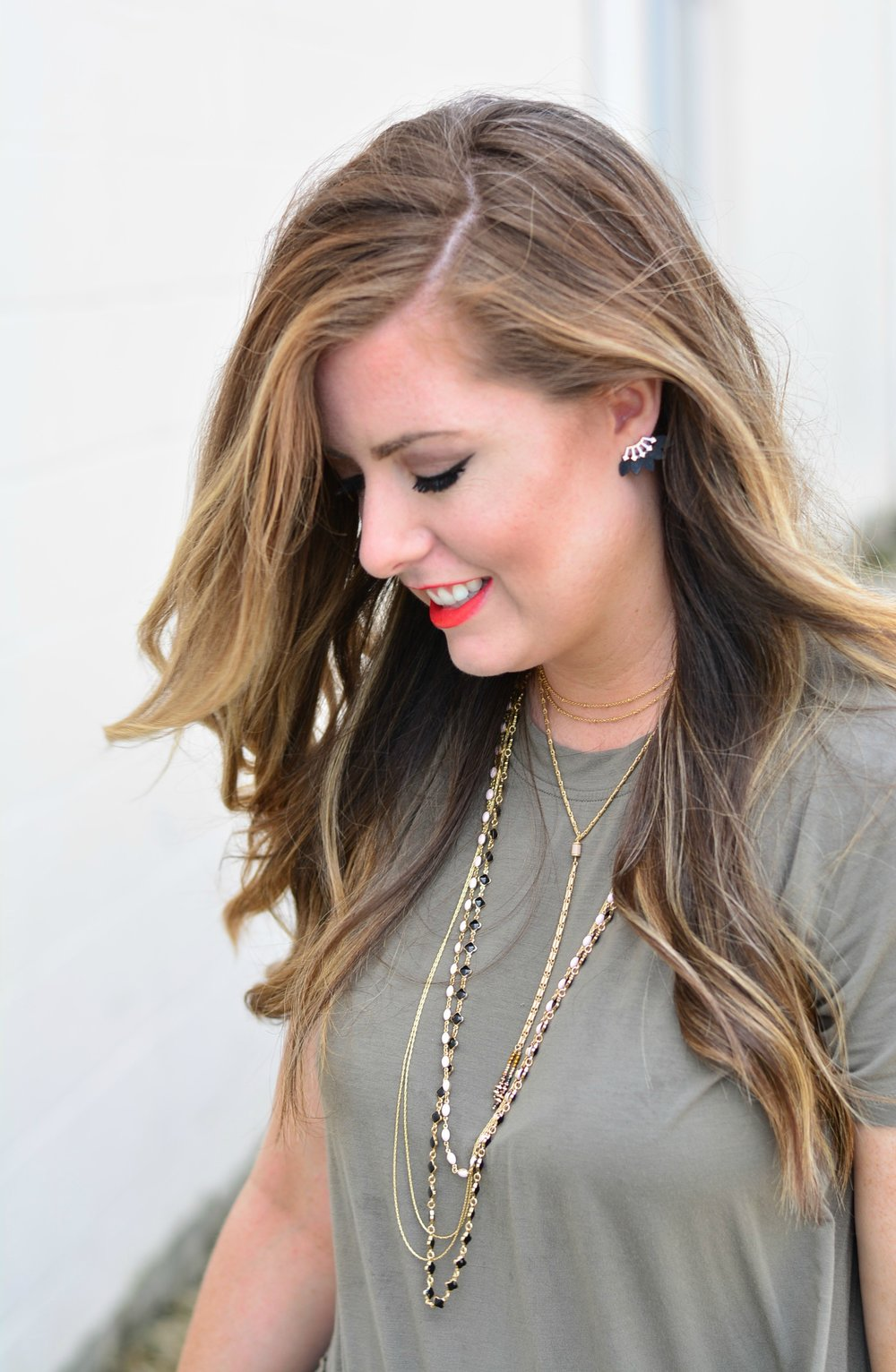 TERNEY LAYERED NECKLACE