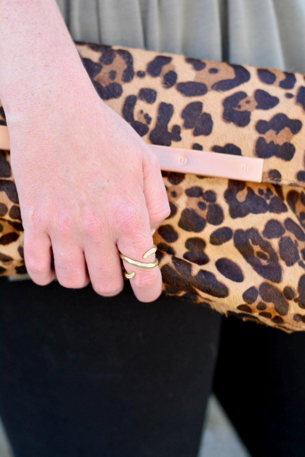 Stella and Dot Adeva ring in gold