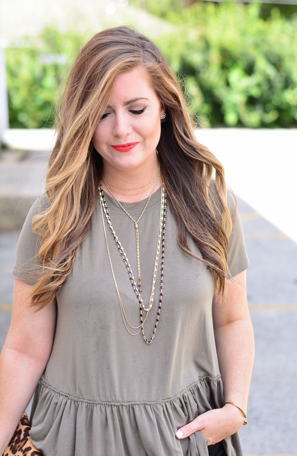 Stella and Dot Terney Layered Necklace