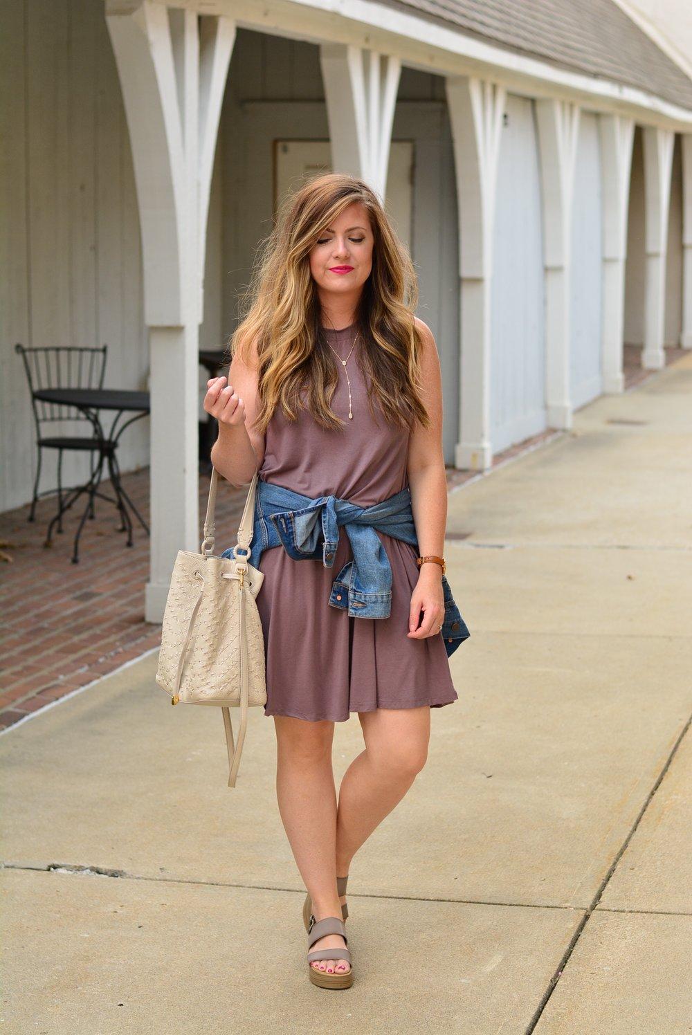 Swing dress for fall