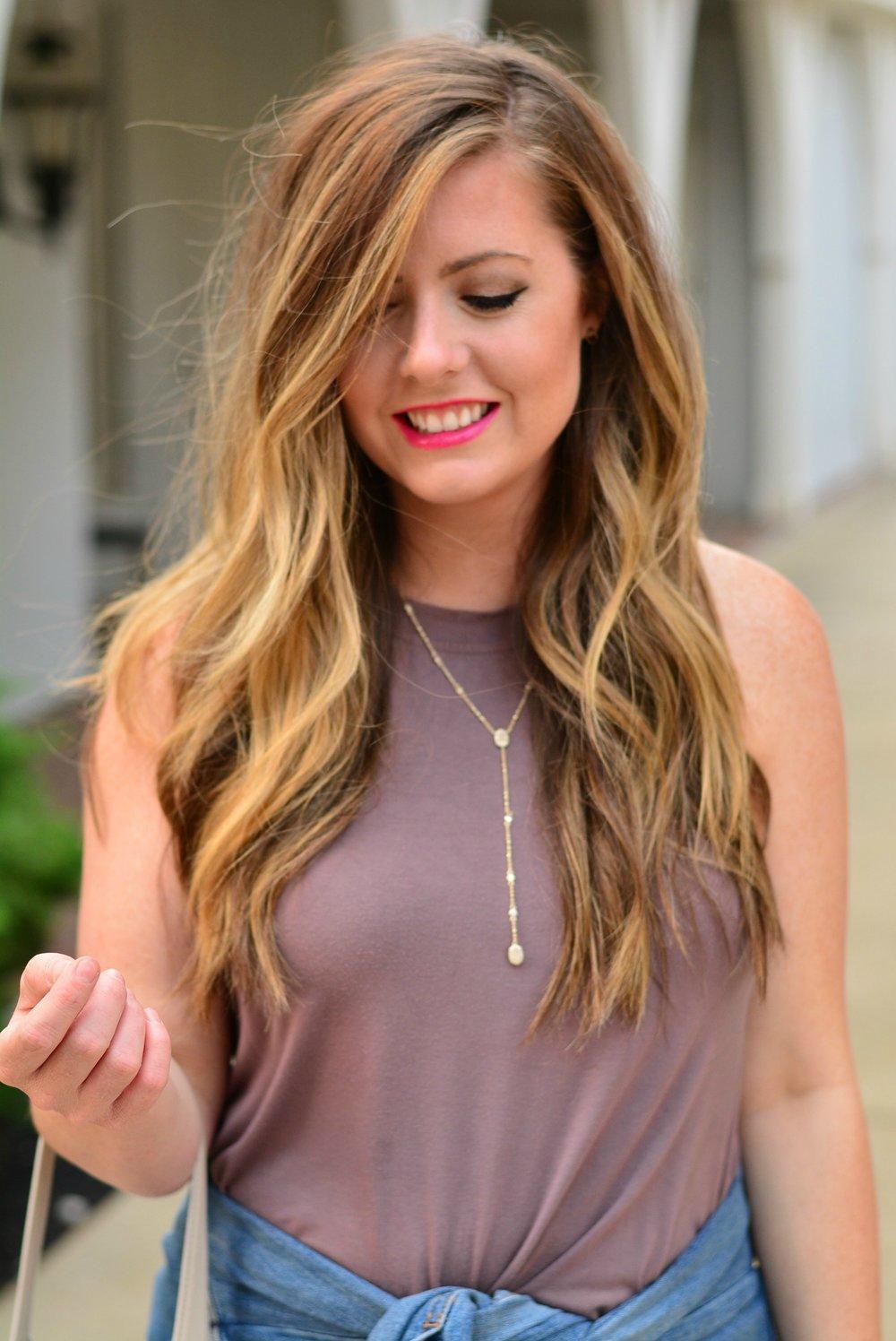 Kendra Scott lariat necklace