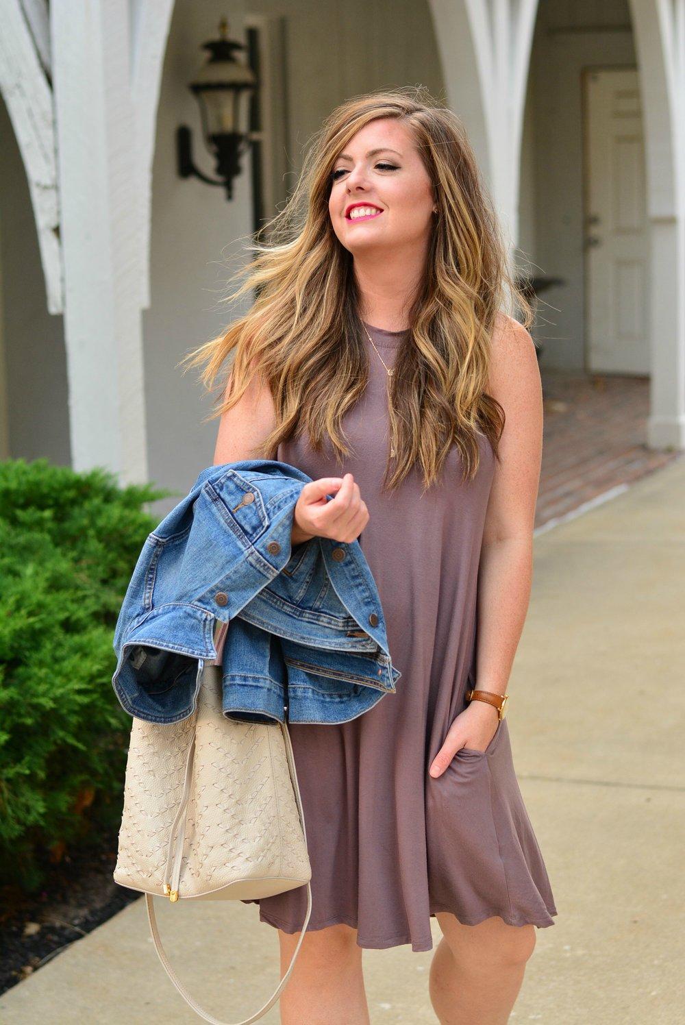 plum dress for fall