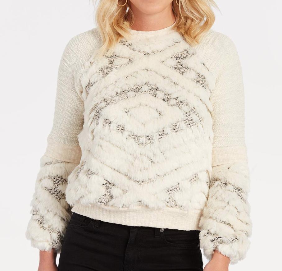 Lantern Sleeve Sweater - $118 EverEve