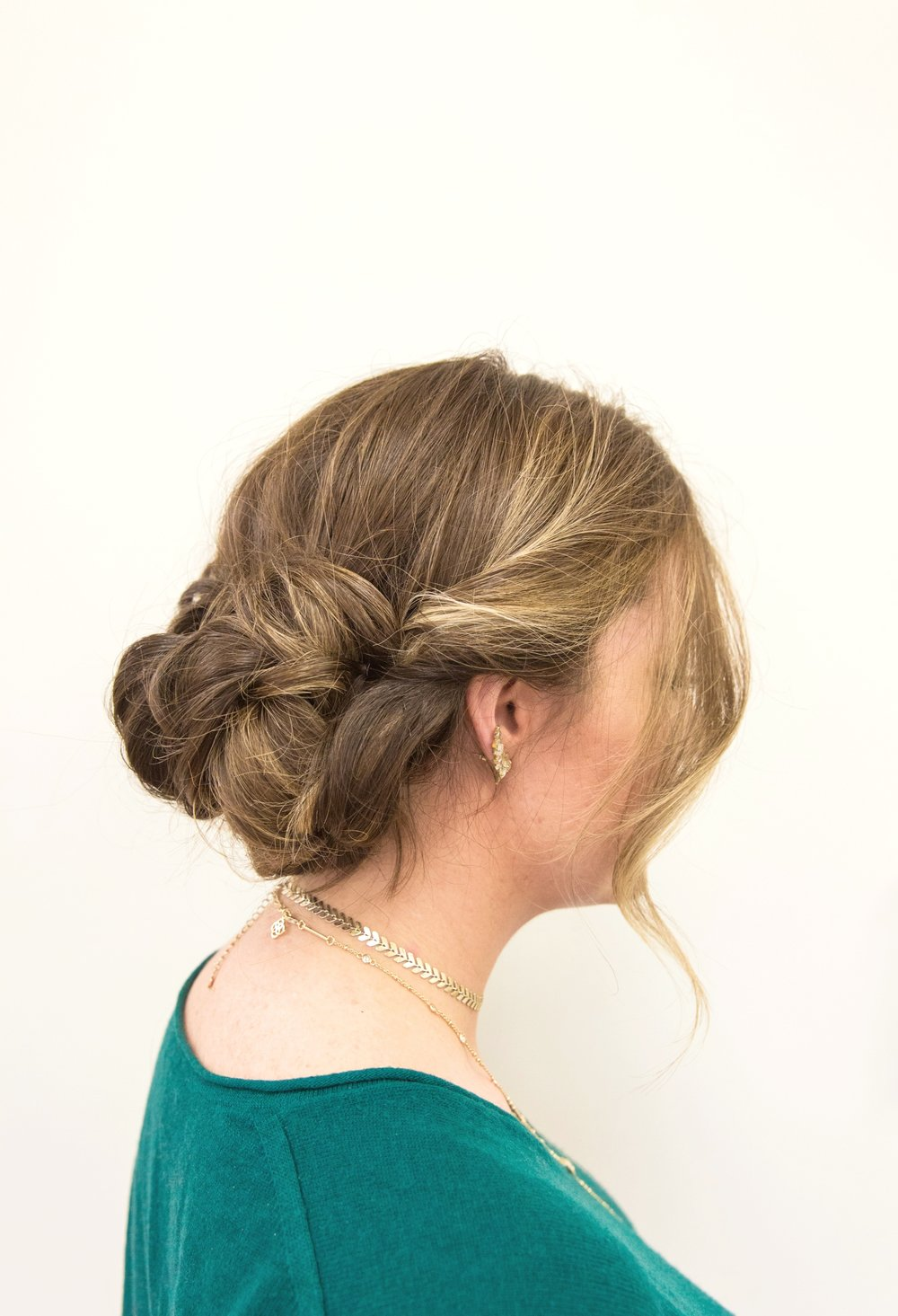 Holiday Hairstyle - Up Do you'll love #BeautyBrands
