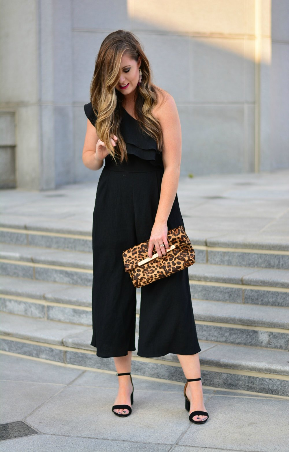 Black jumpsuit for holiday