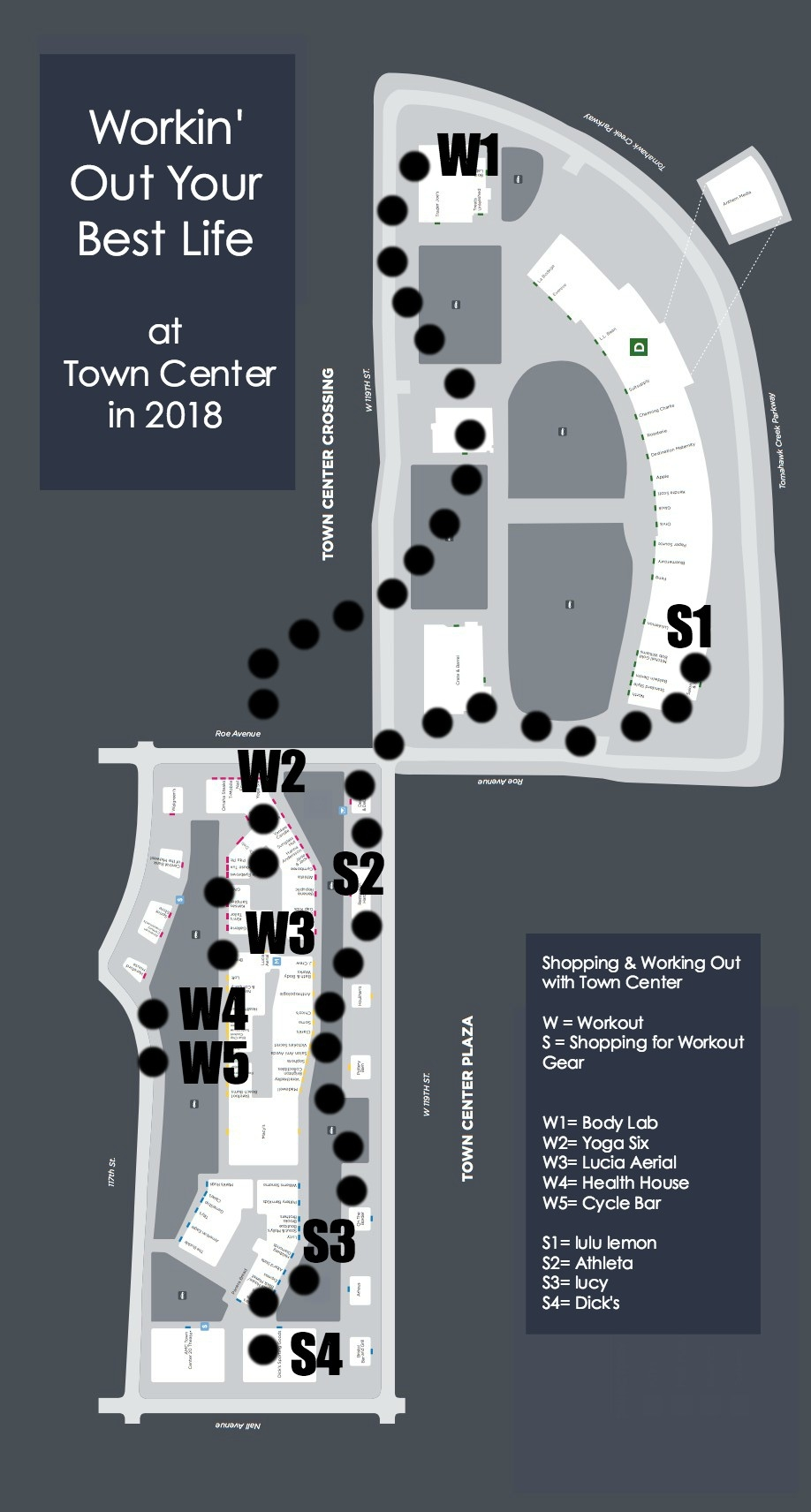 Where to work out at Town Center