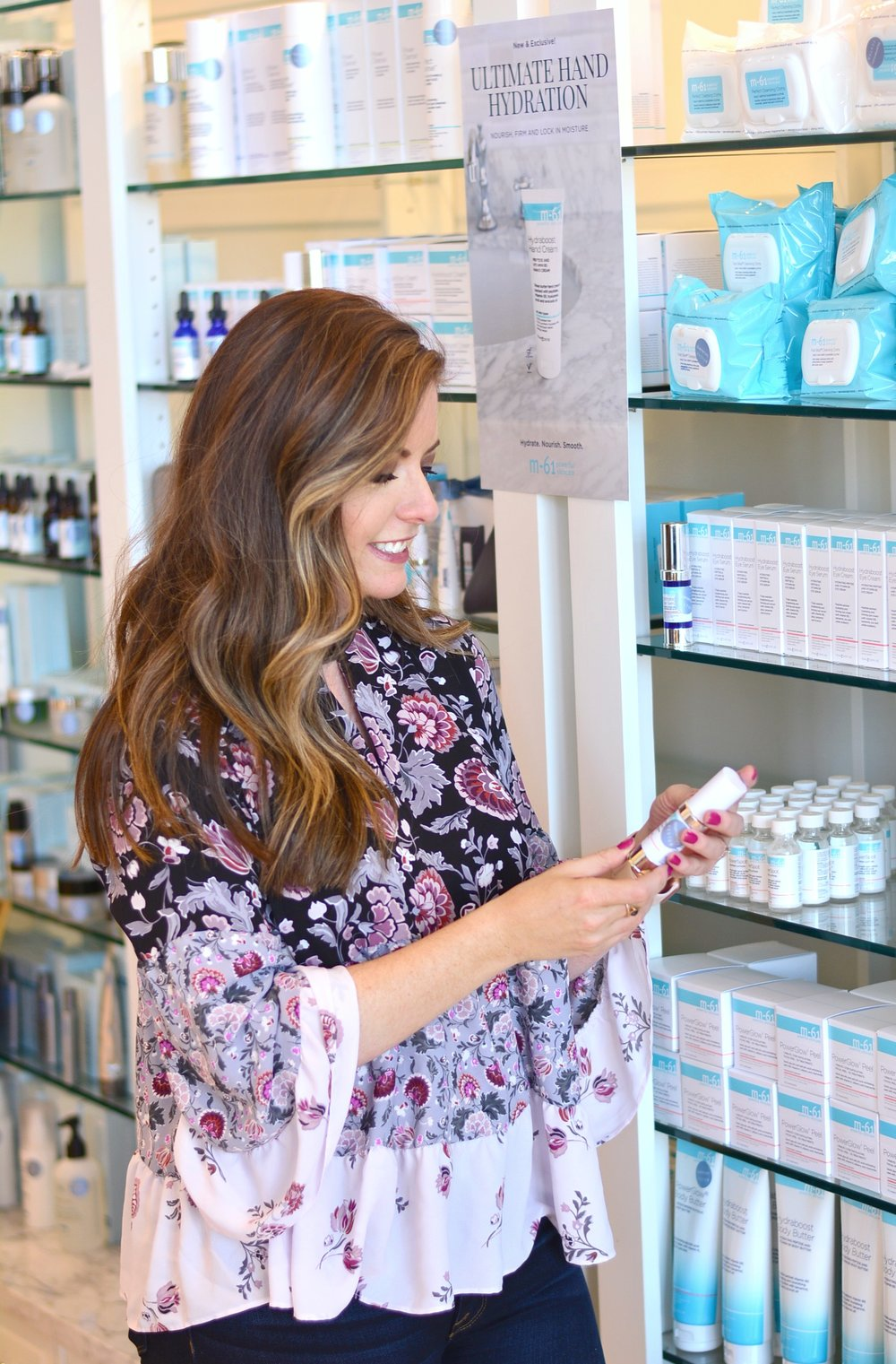 Shopping skincare at Bluemercury