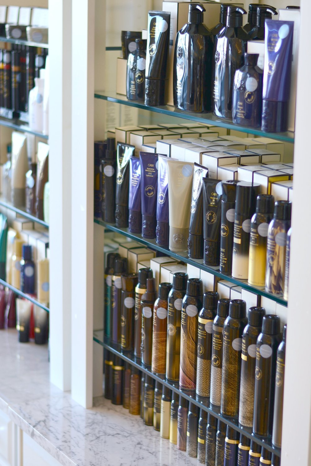 Oribe hair care at Bluemercury