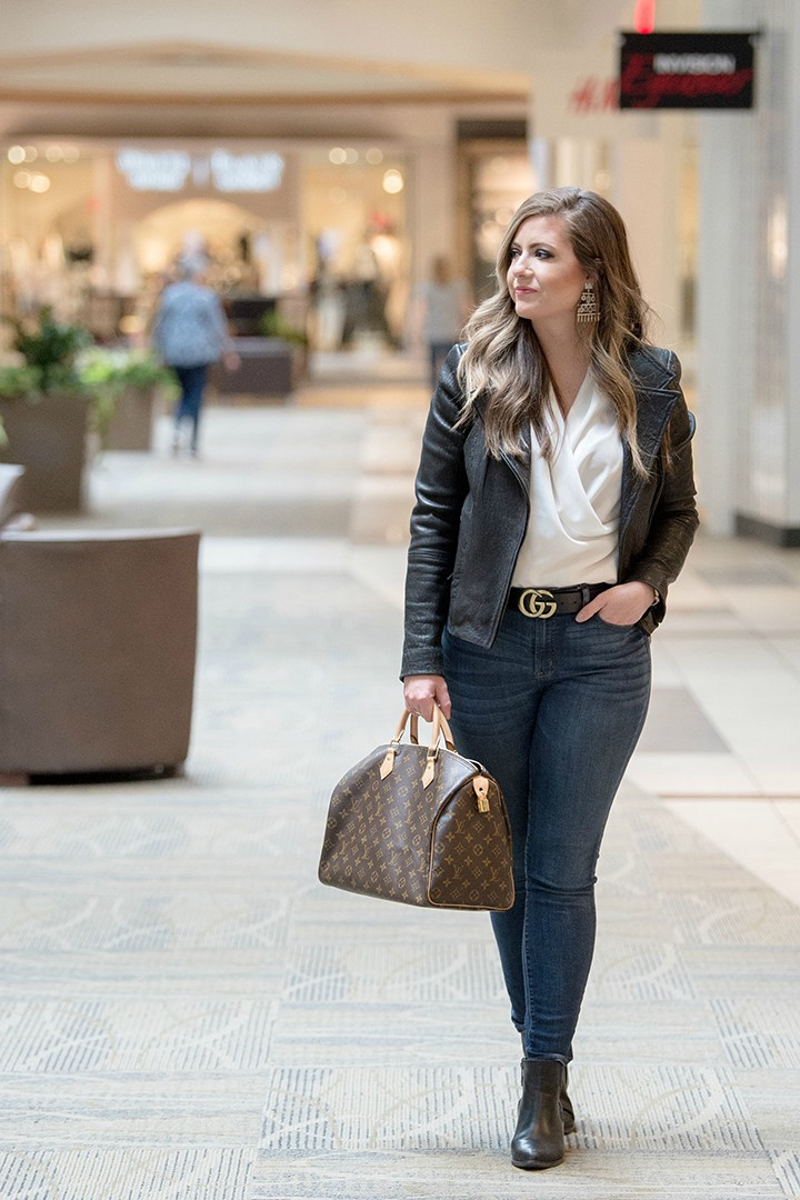 Kansas City Fashion Week blogger Cait Fore